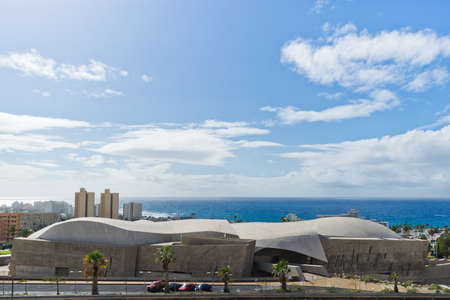 MAGMA - the futuristic Convention Center in Las Americas. Canary Islands, Tenerife.