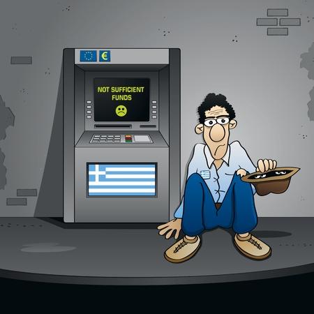 expressing negativity: The Greek Bankruptcy