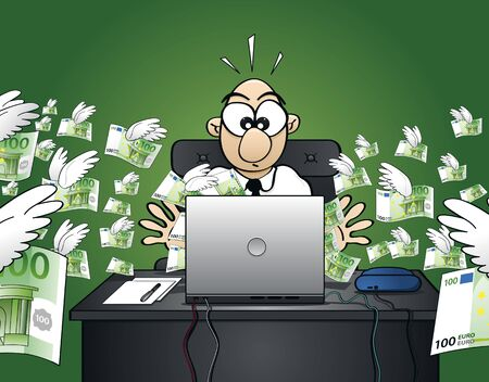 losing money: Losing money on the web - Euro Version