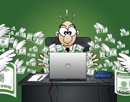 losing money: Losing money on the web - Dollar Version