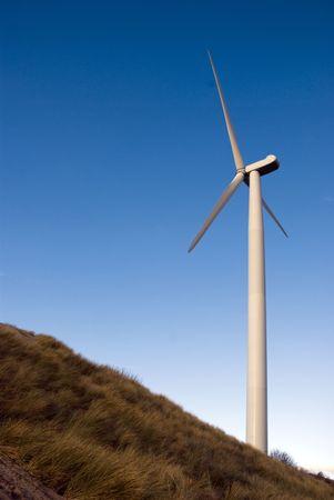 sustained: windmill Stock Photo