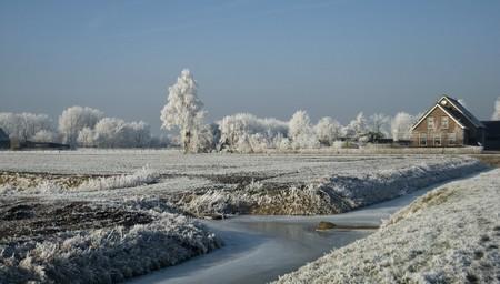 icey: winter landscape Stock Photo