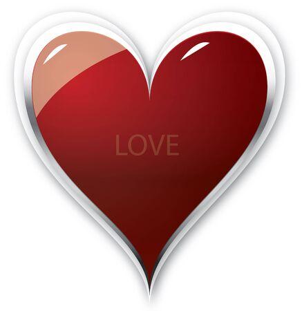 hart: hart full of love Stock Photo