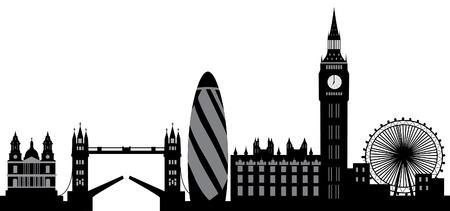 london skyline Vectores