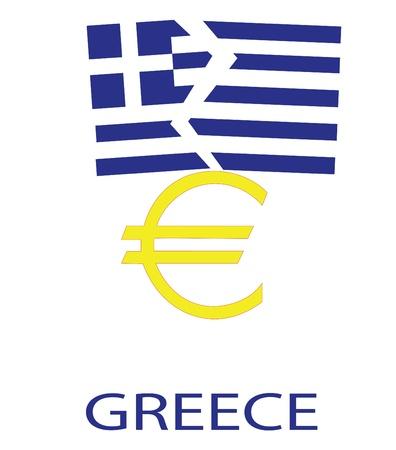 Griechenland fallen aus der Eurozone