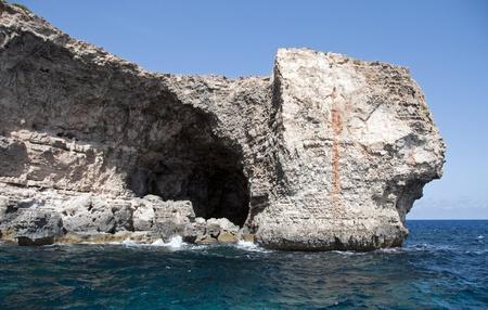 rocks on Comino near Malta photo