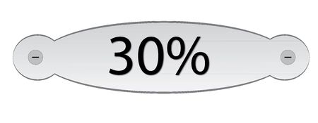 door plate: door plate with text discount 30%