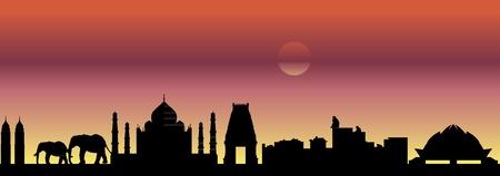 インド: インドのスカイライン