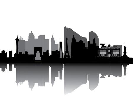 strips: las vegas skyline