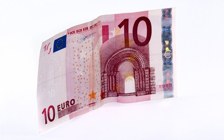 ten euro paper money europe Stock Photo - 12526175