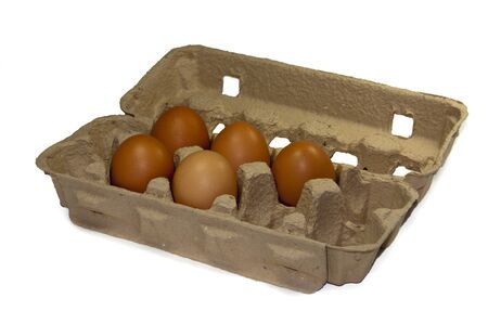 eggs for easter in a box for sale photo