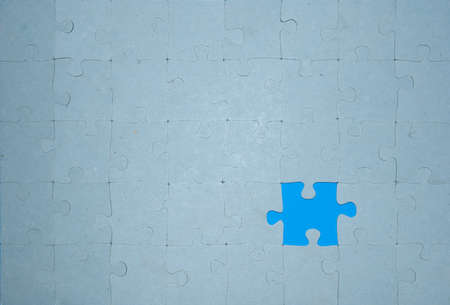 the missing blue part of the puzzle photo