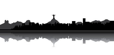 brazil symbol: skyline Illustration