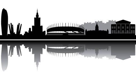 ワルシャワのスカイライン