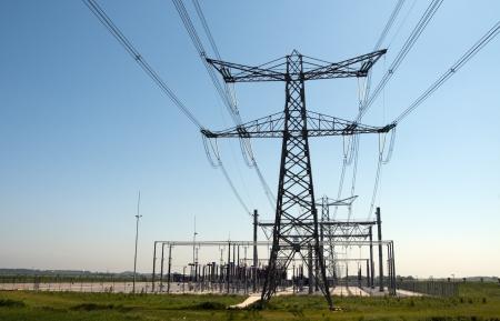 電気を生成するための場所し、他のステーションへの輸送