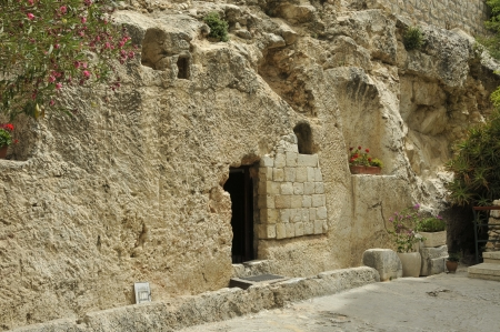 place of the resurrection of jesus christ in jerusalem Israel