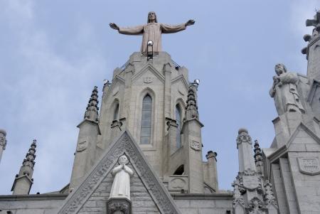 cor: iglesia del Sagrat Cor Barcelona