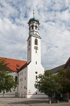 the Sint Martns church in the German place Memmingen photo