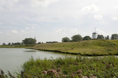 lake and nature in holland near Veere photo