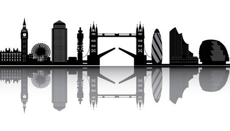 런던의 스카이 라인
