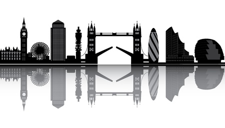 London skyline Stock Vector - 15801590