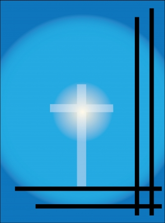 condolence: cross condolence card