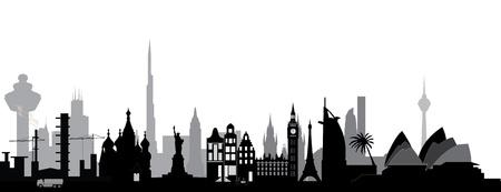 travel around the world Banco de Imagens - 16979632