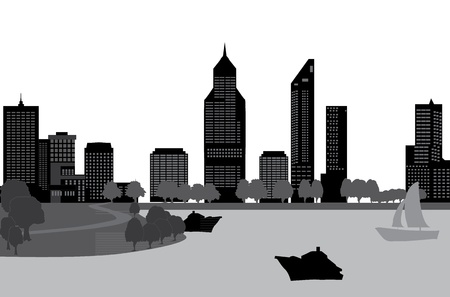 perth: peth skyline