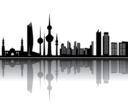 クウェートのスカイライン