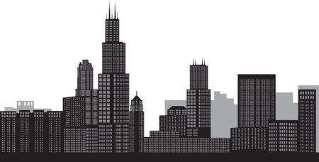 sears: Chicago skyline
