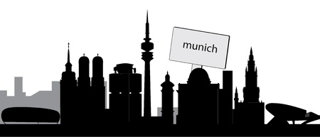 munchen skyline photo