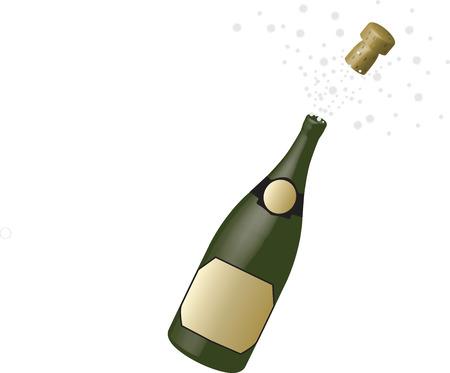 biased: bottel champagne