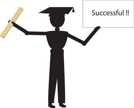 successfull: successfull Stock Photo