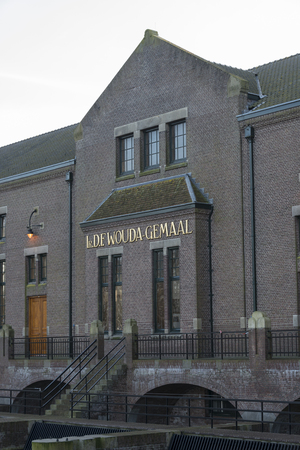 lemmer: The cathedral of steam, The ir. D.F. Woudagemaal in Lemmer, opened in 1920 by Queen Wilhelmina, is the largest steam-driven pumping station in the world still in use Editorial