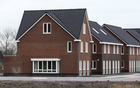 new build houses in holland Hellevoetsluis