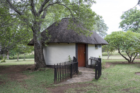 african rondavel as holiday home in a lodge south africa