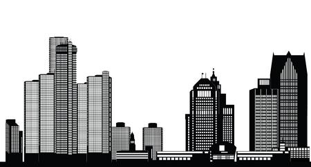 american city: detroit american city