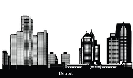 detroit: detroit skyline