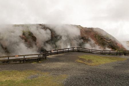 incidental people: gunnuhver iceland hot springs iceland