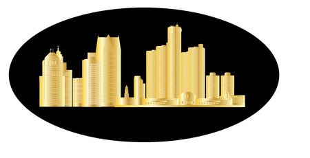 investment real state: detroit skyline de oro