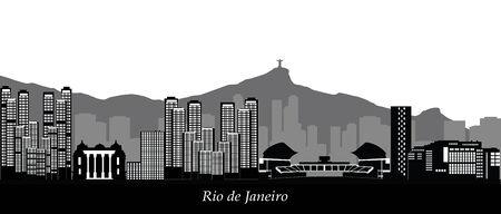 janeiro: rio de janeiro  skyline