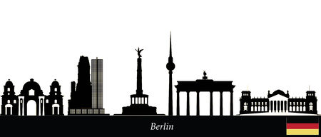 berlin skyline photo