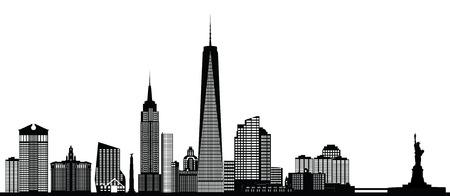 Skyline di New york city Archivio Fotografico - 29675037