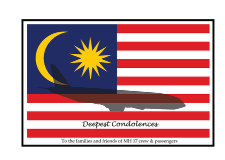 the deepest: deepest condolences to MH17 people and crew