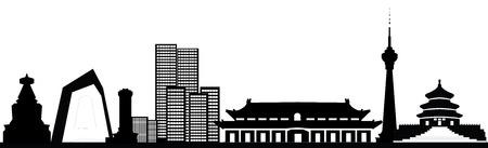 beijing chinese skyline