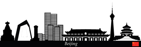 beijing: beijing chinese skyline