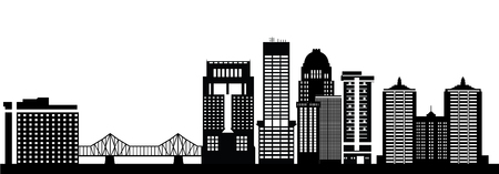 kentucky: louisville skyline