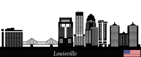 hosszú expozíció: Louisville Skyline