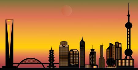 pavilion: shanghai skyline