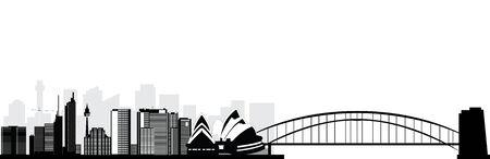 sydney skyline: sydney skyline Stock Photo